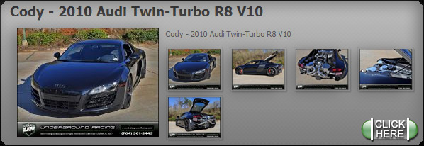 Cody - 2010 Audi Twin-Turbo R8 V10