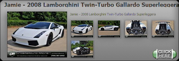 Jamie - 2008 Lamborghini Twin-Turbo Gallardo Superleggera