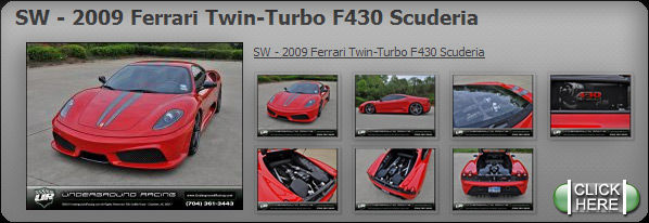 SW - 2009 Ferrari Twin-Turbo F430 Scuderia
