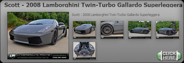 Scott - 2008 Lamborghini Twin-Turbo Gallardo Superleggera