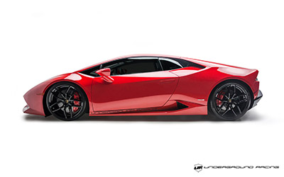 Underground Racing Twin Turbo Lamborghini Huracan Rear Corner Desktop Wallpaper